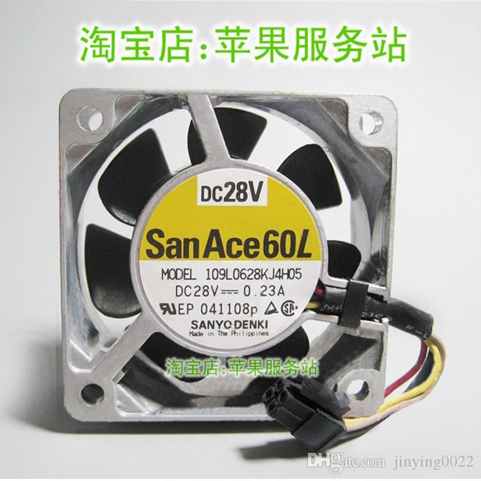 Новый оригинальный Sanyo 109L0628KJ4H05 28V 0.23A 4-проводной вентилятор сервер 6025 6см