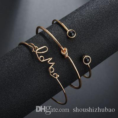 Wholesale New Fashion Minimalist Openings Bracelets Scissors Decorative Jewelry Bracelets &Bangles Gifts