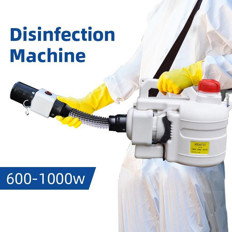 Elektrische ULV Sprüher Tragbare Fogger Maschine Desinfektionsmaschine für Krankenhäuser Startseite Ultra-Hochleistungs-Spritzmaschine Kampf