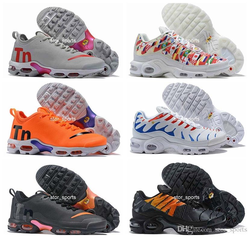 2019 Mercurial Coupe du monde chaussures nike air max tn Plus SE 2 Drapeau international France Chaussures de course Tns Hommes Femmes NIC QS Air Sports Baskets Chaussures Eur36-46