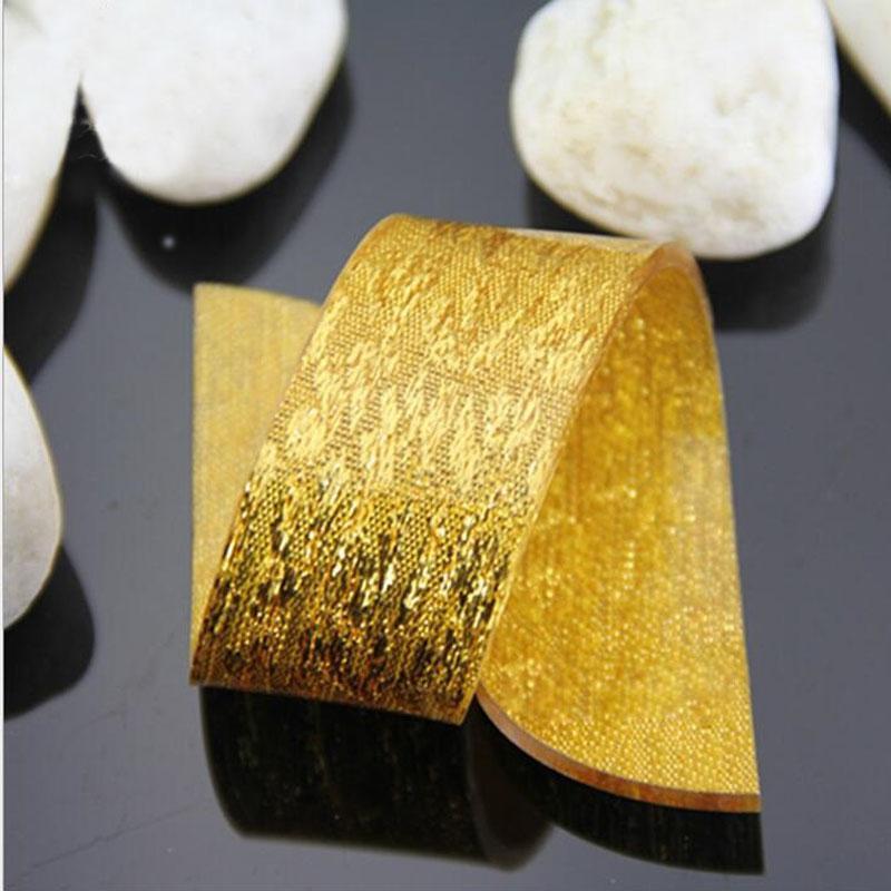 All'ingrosso-200 pz argento / oro anelli di tovagliolo acrilico moda semplice banchetto di nozze tavolo da pranzo decor per matrimonio baby shower partito ZA1380