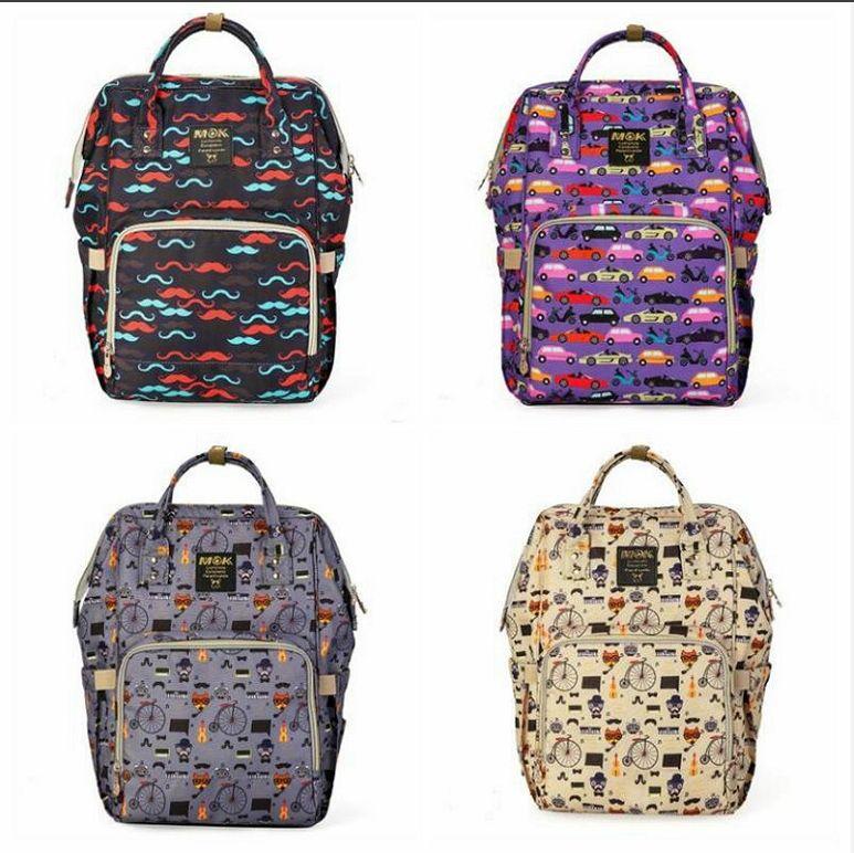 Handbags Large Nursing Travel Pcvn Bags Mommy Mother Maternity Outdoor Nursing Tote Backpacks Fashion Diaper Backpacks Women Nappy F584 Rnae
