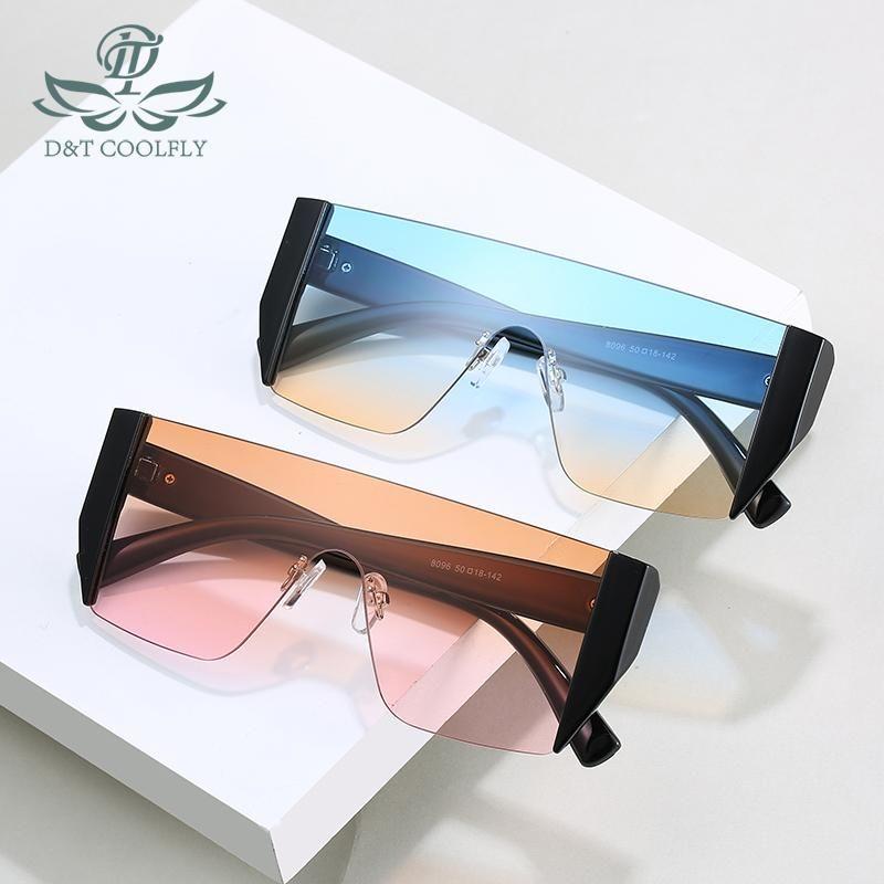 Lentes de color 2020 New Fashion Square gafas de sol mujeres de los hombres de la vendimia de degradado Marca de lujo de la Mujer clásico gafas de sol giazO