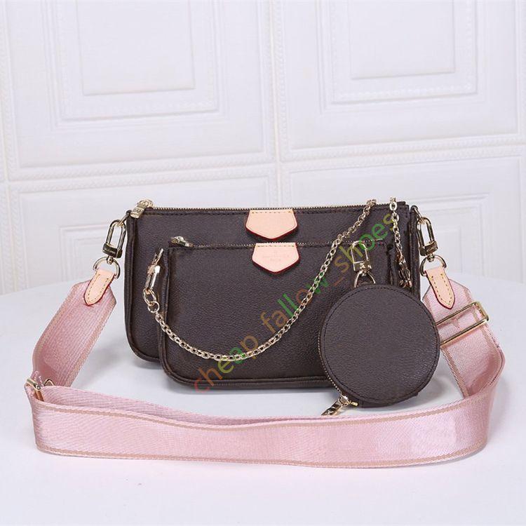 En çok satan çanta omuz çantaları tasarımcı çanta moda çanta çanta cüzdan telefon torbaları Üç parçalı kombinasyonu torbaları ücretsiz alışveriş