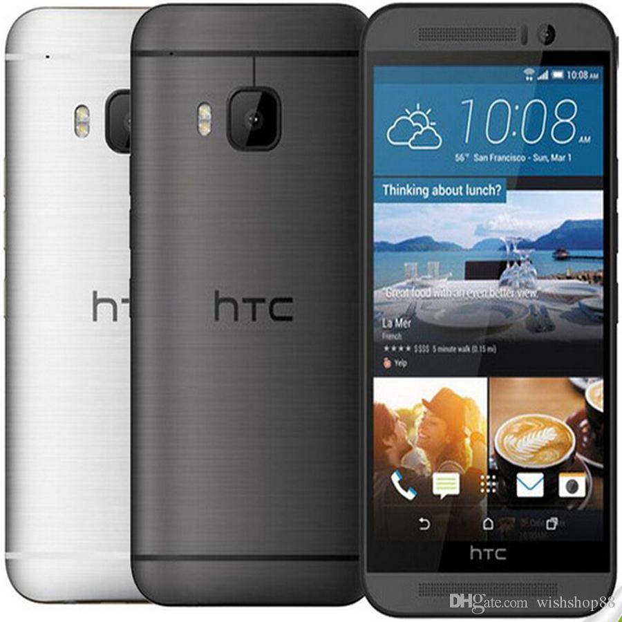 Original Unlocked HTC ONE M9 4G LTE Mobile Phones HTC M9 Octa-core 32GB ROM 3GB RAM 20MP Camera WIFI NFC GPS M9 Smartphones