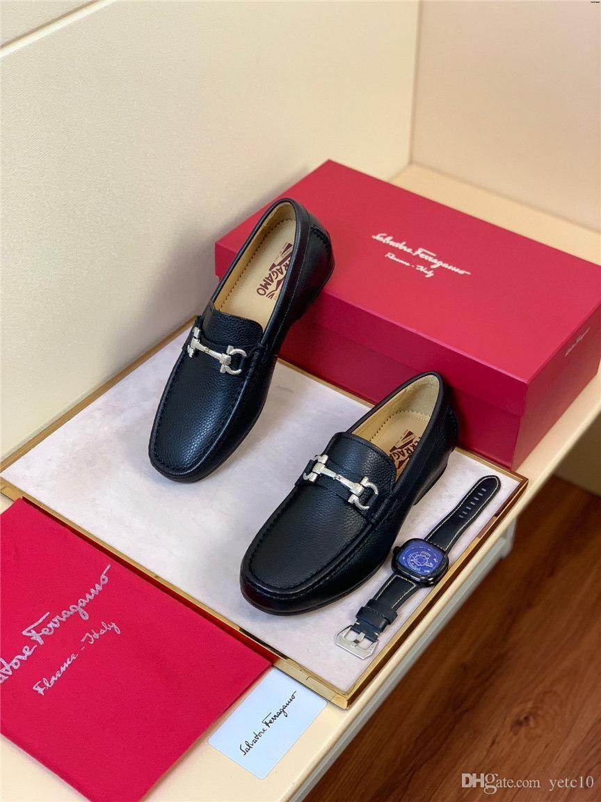 estate 19ss a mano scarpe da abito da sposa traspirante YECQ1 nuovo nero scarpe da uomo vestito di affari degli uomini aguzzi fascino maturo lusso italiano