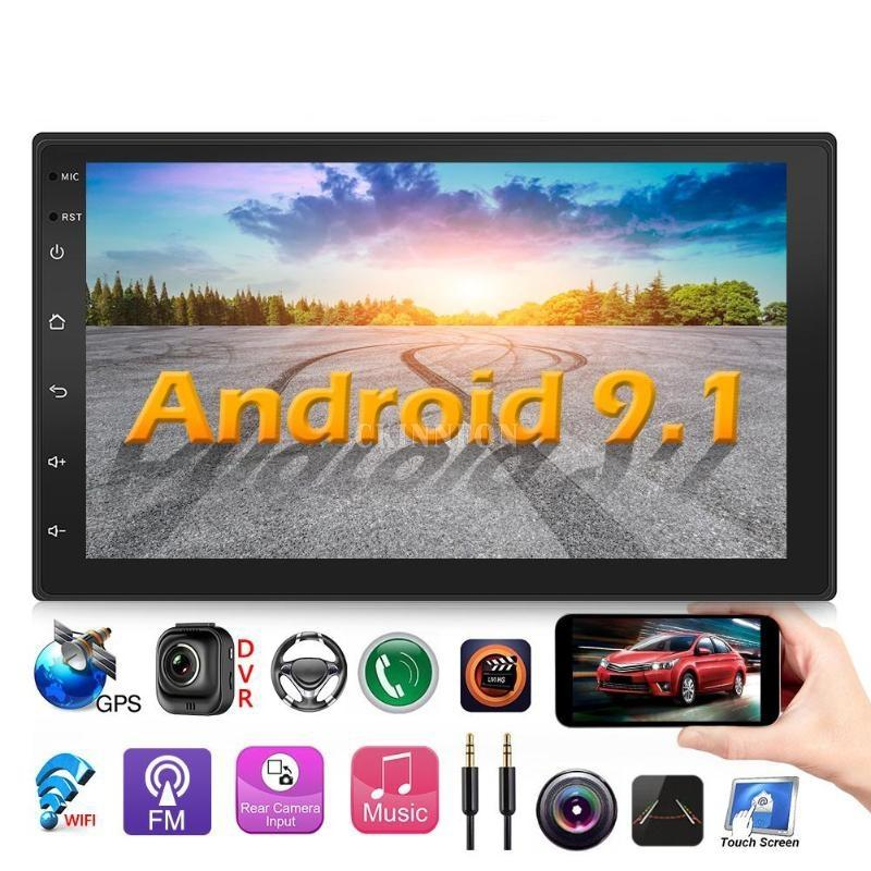 5Pcs/Lot 9218S Upgraded 2 DIN Android 9.1 Radio Double Car Stereo GPS Navigation Bluetooth WiFi USB Radio Head Unit Driving