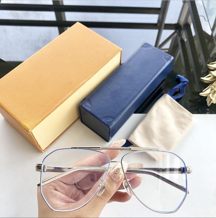 Novos óculos moldura clara moldura óculos de lente restaurar antigas formas Óculos de grau homens e mulheres miopia olho armações de óculos de 1206 com caso