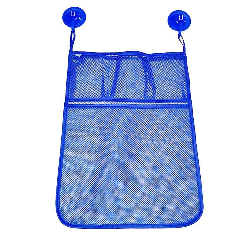 Moda Casa de Banho Storage Bag Folding Organizador bolsa do bebê Banho Malha saco de armazenamento Bath Criança Bag Net