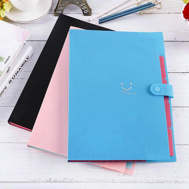Taschen Dokumententasche Dateiordner Brieftasche erweitern Zellen tragbare Orgel Tasche A4 Organizer Papierhalter Büro Schulbedarf