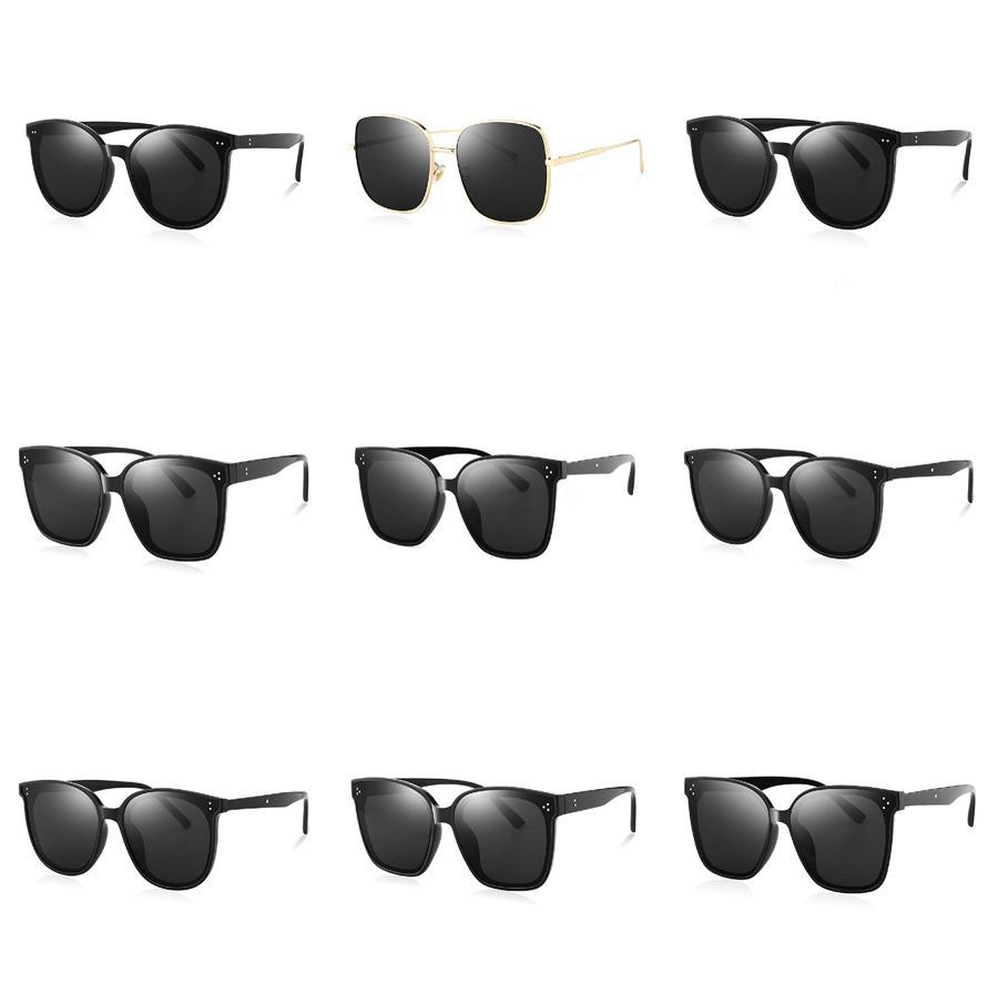 Mor Portatif Katlanabilir Katlanabilir Güneş Polarize Womens Moda Retro Vintage güneş gözlüğü Sürüş Aynalı Gözlük # 219