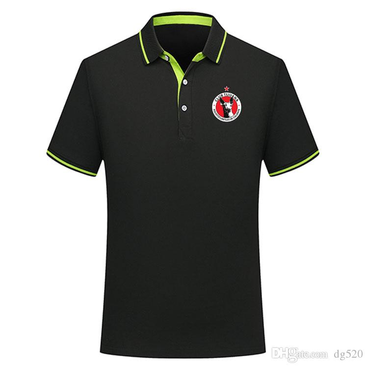 Tay versiyon kalite 2019 2020 Meksika Club Tijuana futbol polo gömlek Futbol Jersey1 MALCORRA Kalinski L.CHAVEZ Xolos de Tijuana Polo Şir