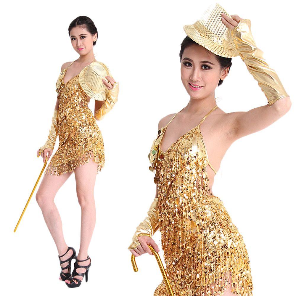 Stage Wear Special Offer Women Arrivals Sexy Latin Dress Salsa Dresses Fringe Skirt