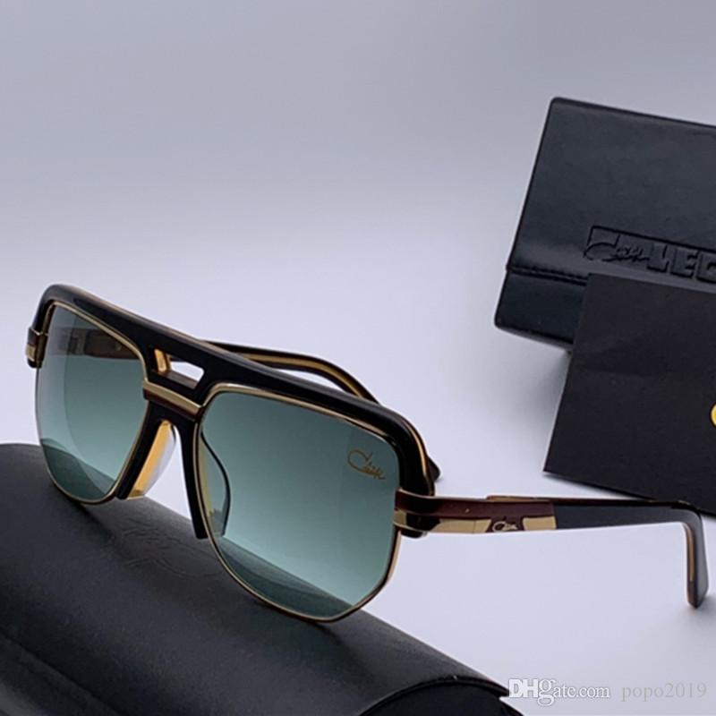 أحدث بيع شعبية مصمم أزياء الرجال نظارات شمس 9083 لوحة مربع الإطار المعدني الجمع بين أعلى جودة عدسة UV400 مع مربع 0936The