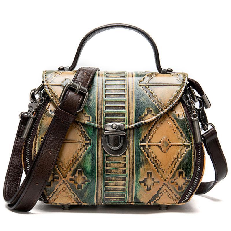 high quality leather Handbag Bestselling wallet women designer Handbags purses summer beach two Piece Flower Bag