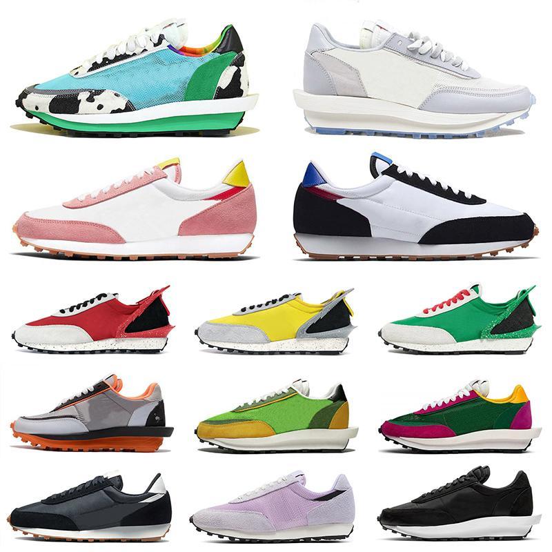 Nike Blazer Daybreak Sacai ldv ld waffle 2020 New Daybreak Sacai LDV ld Waffle Donna Uomo Sneakers Scarpe da corsa Undercover Rosa Pino Verde Gusto Moda Uomo Sport Blazer Scarpe