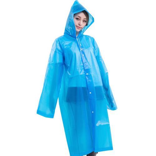 Raincoa Adulto espessamento para aumentar Outdoor Caminhadas Turismo não descartável impermeável PEVA Chuva Cape Capa com capuz Raincoat