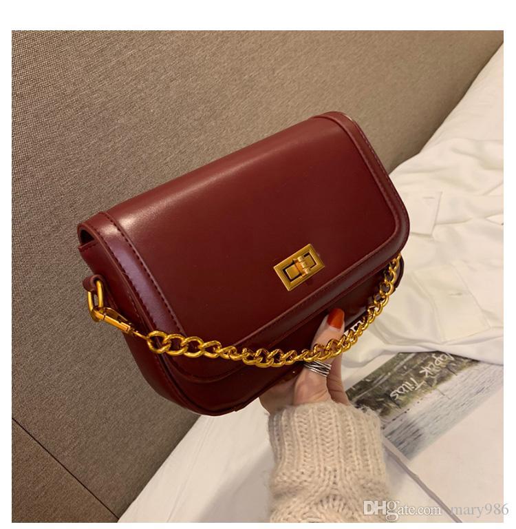 2019 nuevo bolso China Messenger Bag PU cuero mujer bandolera Moda Flap pequeño bolso weimeibagge / 1