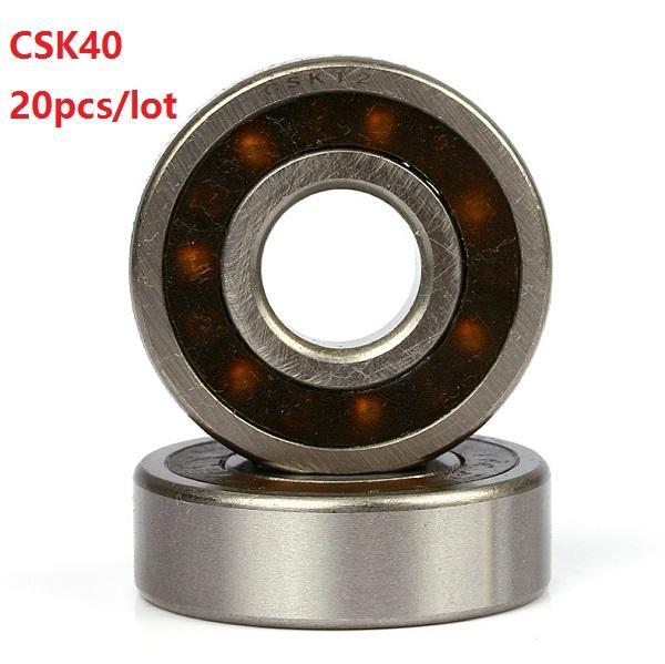 20 pz / lotto CSK40 40mm un modo frizione cuscinetto senza chiavetta 40x80x22mm alta qualità frizione antiritorno cuscinetto 40 * 80 * 22mm