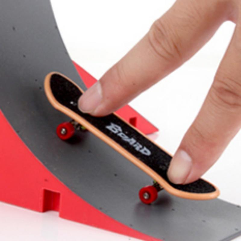Skate Park Kit Rampe Pièces pour Finger Board Sport Ultimes Props Formation Jeux Toyss