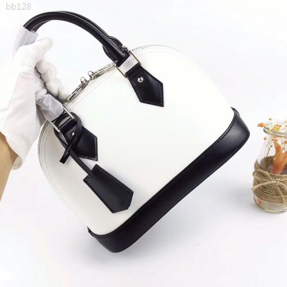 2020 Nouvelle haute qualité Femmes Sacs à main de luxe de toile monogramme de sacs poignée Sac bandoulière sangle sac fourre-tout 25Cmx19cmx11cm Type1