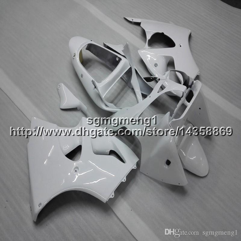 23 renkler + Hediyeler için Enjeksiyon kalıp beyaz motosiklet panelleri Kawasaki ZX6R 2000 2001 2002 ZZR600 05 06 07 08 ABS Plastik motosiklet kaporta