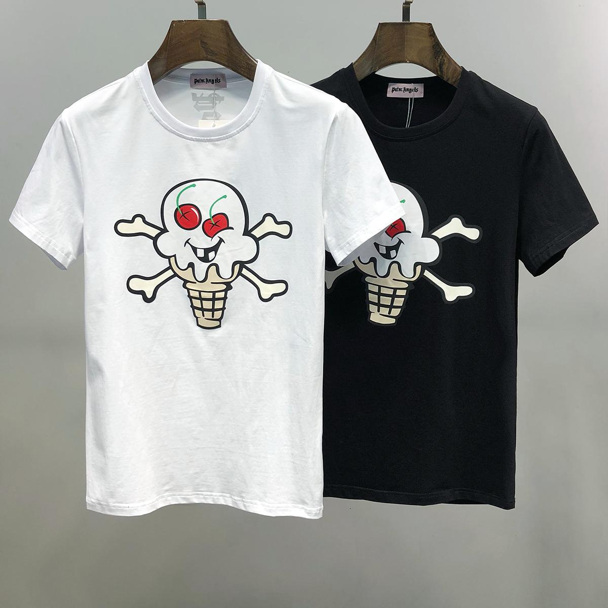 2020 Summer Fashion New Modle Man Short Sleeve T-shirt For Men Korean Version Slim Men's Wear Clothes 11284