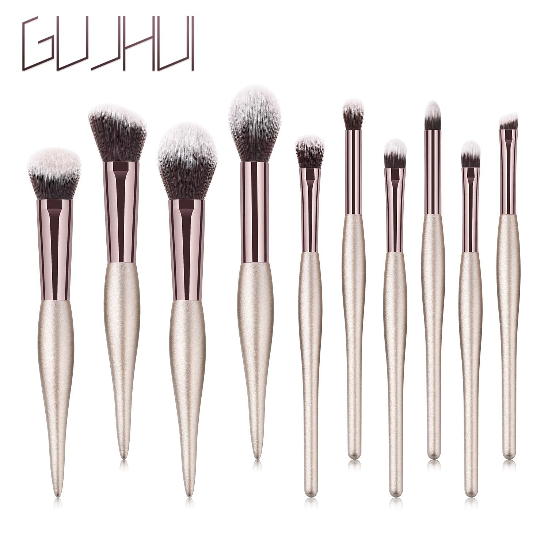 Maquillage Pinceaux de brosse cosmétiques poudre Fard Fondation pinceau de maquillage Ombre à paupières Lèvres Kit Visage Yeux Pinceaux
