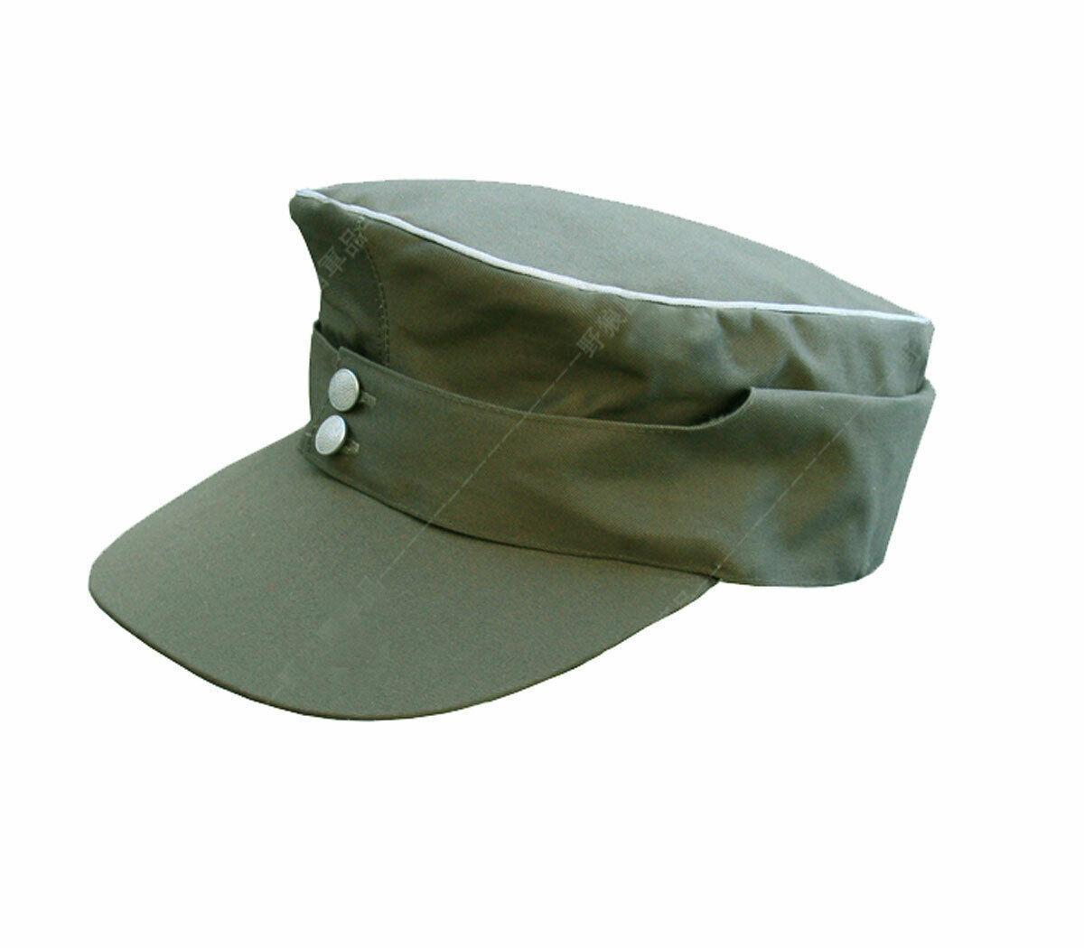 tomwang2012. Les agents allemands Seconde Guerre mondiale M43, Été, Champ képi chapeau vert