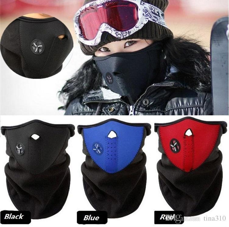 Новый велосипед маска зима лыжи снег шеи теплее маска для лица шлем для коньков / велосипед / мотоцикл Велоспорт шапки лицо партии маски 10 шт. / лот C0186