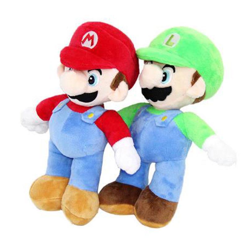 2020 New Cartoon Super Mario Mushroom Plush Toy Soft Doll Kids