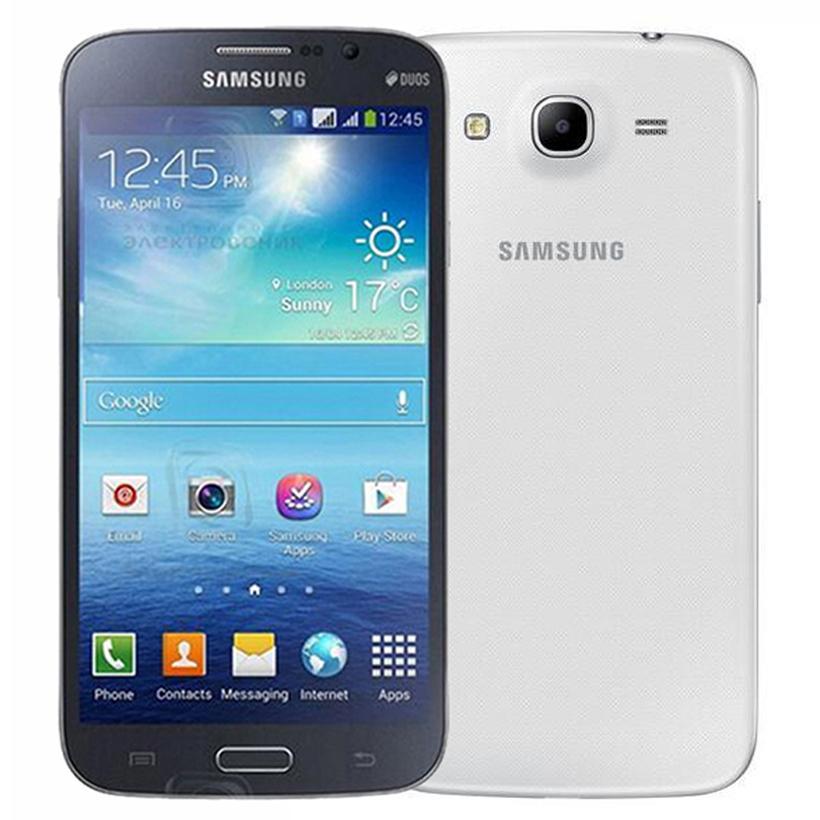 Original Refurbished Samsung Galaxy Mega 5.8 i9152 Dual SIM 5.8 inch Dual Core 1.5GB RAM 8GB ROM 8MP 3G Unlocked Android Phone DHL 1pcs