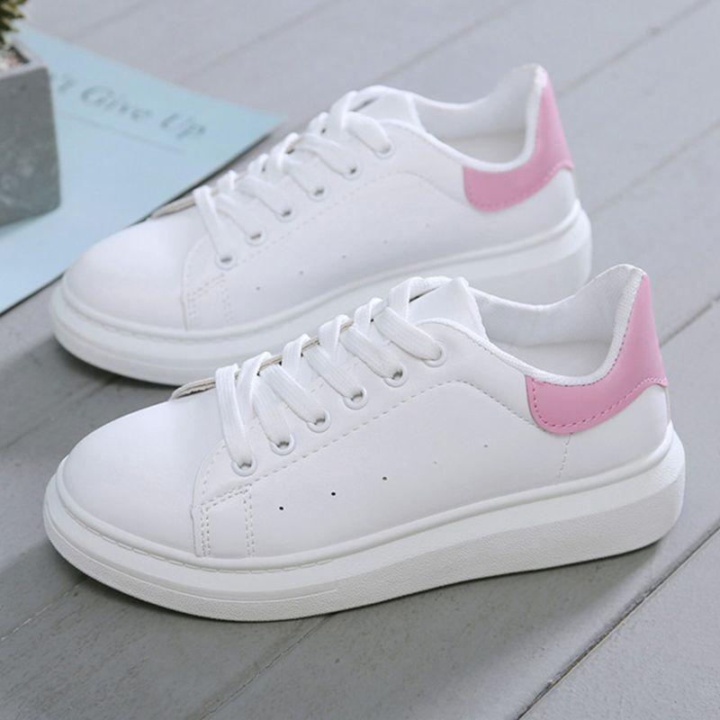 Neue Designer-Schuhe Frau Keil-Plattform-Turnschuhe Lace-Up Atmungsaktive Tenis Feminino beiläufige Chunky Turnschuhe Damen Schuhe Mujer
