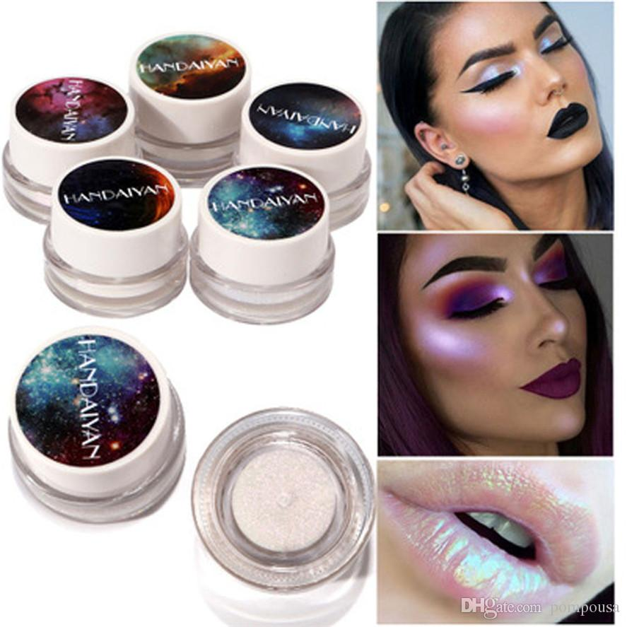 Makeup Glitter Multifunctional Highlight Makeup New 5 Colors Highlight Eye Shadow Cosmetic Glitter Pretty