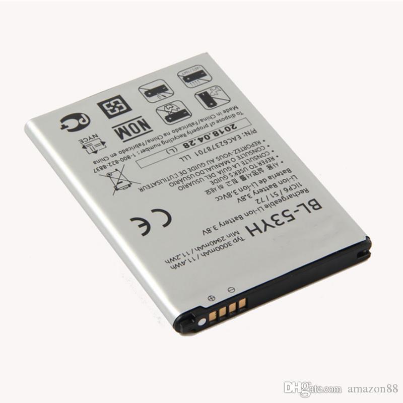LG G3 D850 D851 D855 LS990 D830 Vs985 F400 LG G3 Pil NEW BL-53YH Pil