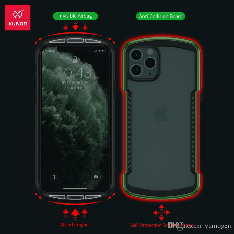 Personalizado personalizado anti-impacto Transparente Funda Cubierta para iPhone XR XS 11 Pro Max X.
