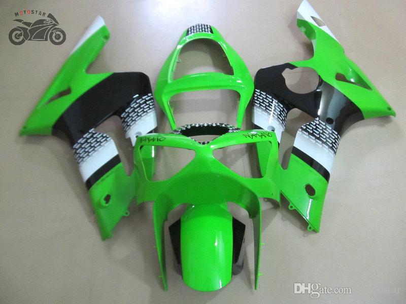 Personalizar carenados de inyección kit para Kawasaki Ninja ZX6R 636 03 04 ZX6R 2003 partes del cuerpo carenado 2004 ZX 6R camino deporte de la motocicleta