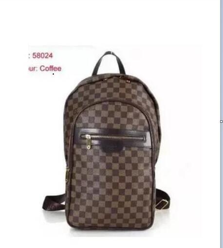 4af896f24 2019 Louis Vuitton Bolso bandolera de cuero para hombre Bolso de viaje de  moda Mochila de