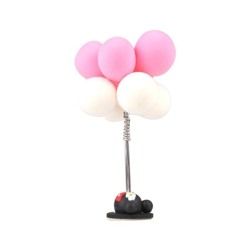 Auto-Dekoration Confession Ballon Innen nettes kreatives buntes Lehm-Ballone verziert Geschenk Auto Supplies Zubehör