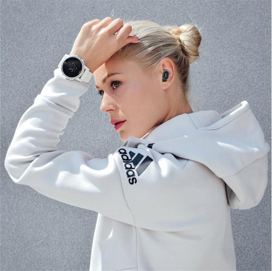 A2-TWS Mini Kablosuz Bluetooth 5.0 Kulaklık Spor Kulak A2 Kulaklıklar Stereo Sürüş Tüm Telefon # OU800 için Kutu Şarj ile Earbuds çağrılması