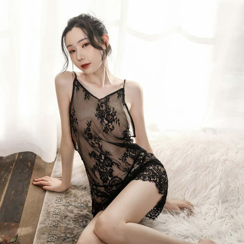 2021 Womens Sleep & Lounge Pajama Sets Lace Skirt Women Lingerie Nightgown  Pajamas Underwear Lace Slash Lady Girl Sleepwear Printing Transparent From  Garmentmall, $9.14 | DHgate.Com