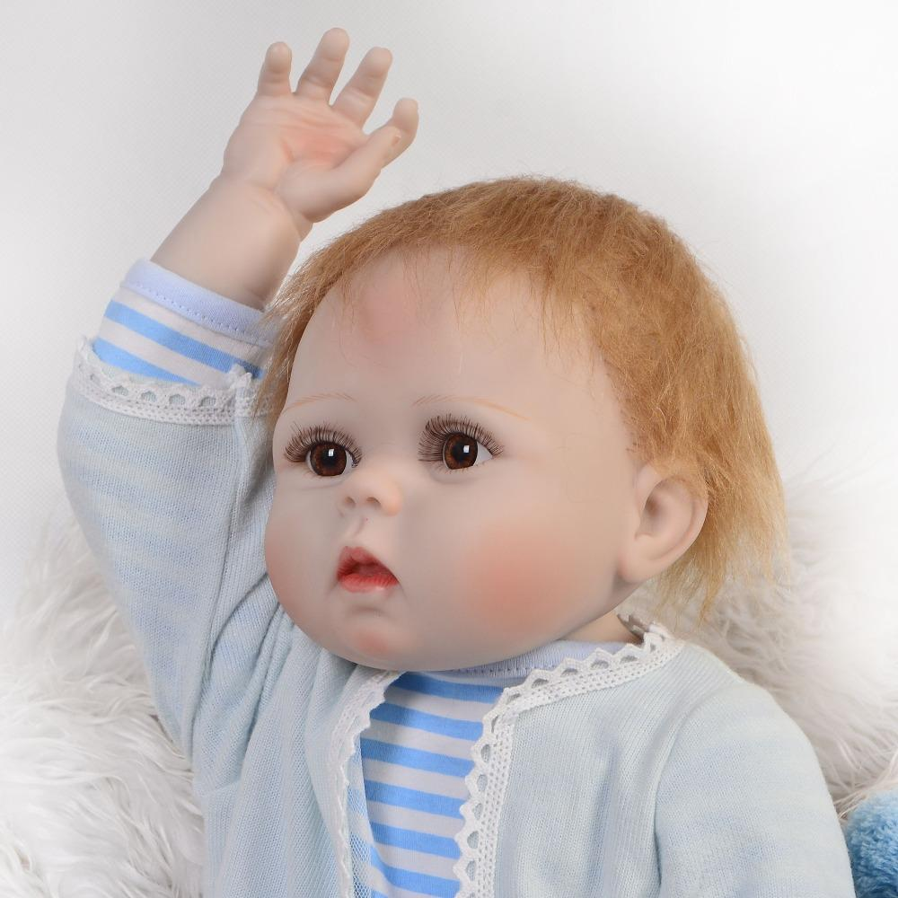 Full Silicone Reborn Baby Dolls 57cm Lifelike Newborn Boy Baby Alive Dolls Birthday Gift Child Menino Bebe Real Reborn Bonecas Search Dolls Doll Clothes 12 Inch Baby Doll From Toyguiyang 105 52 Dhgate Com