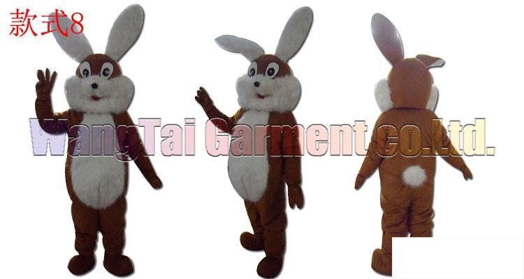 cool rabbit mascot costume Free Shipping Adult Size,bunny mascot suit plush toy doll carnival anime movie classic cartoon mascot