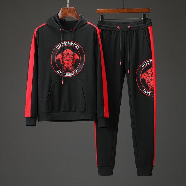 Herren-Trainingsanzüge Sportswear Mann Jogginganzüge Hoodies Frühling Herbst lässige Sportswear Sets Bekleidung Outdoor Wear 092800
