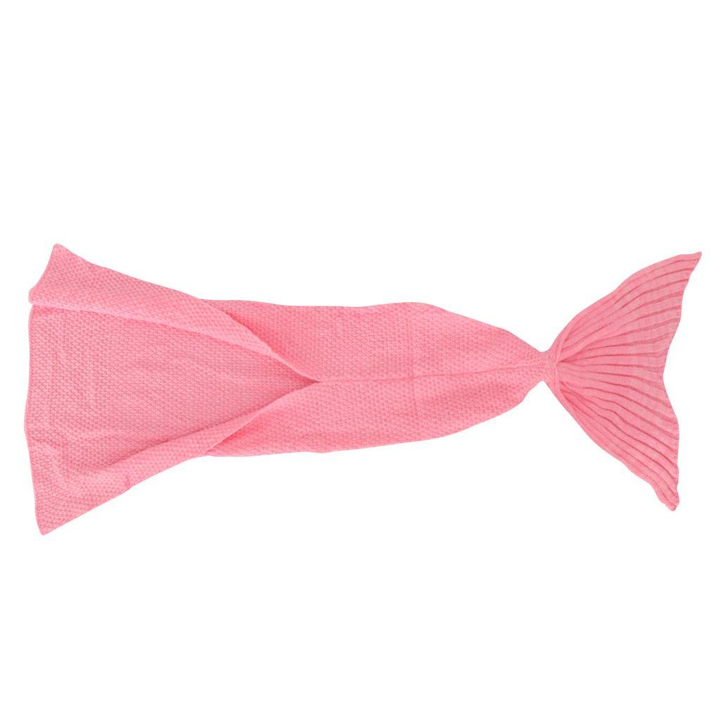 Crianças Mermaid Blanket cauda malha Dormir Handmade Blanket Bag Sofa Quilt Sala melhor escolha para Meninas do presente