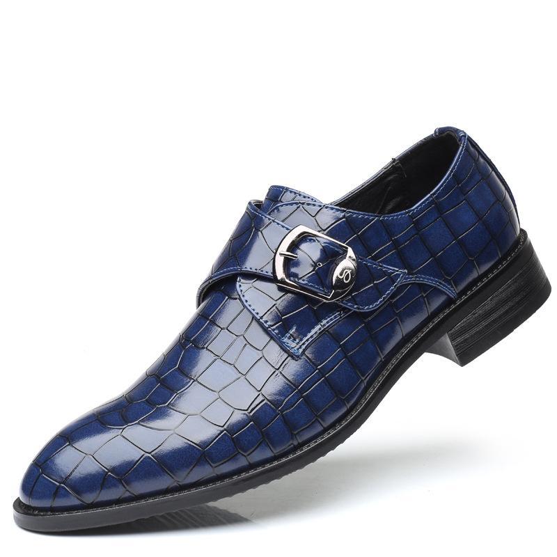 2020 neuer Frühling-neue Art und Weise Trend Herrenschuhe All-Match Größe Schuhe Cross Border Selling Hot Set Fuß Schuhe