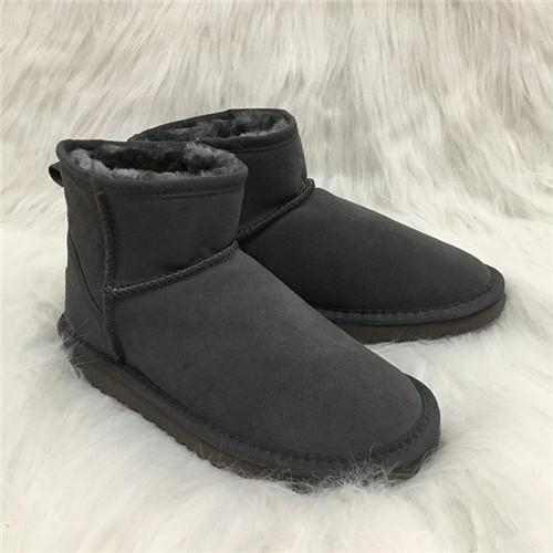 1287c28e34d Hot Sale Australian Style Mens Snow Boots Waterproof Mens Winter Cow Suede  Leather Outdoor Boots 5854 Brand IVG Designer Shoes Chelsea Boots Shoes ...