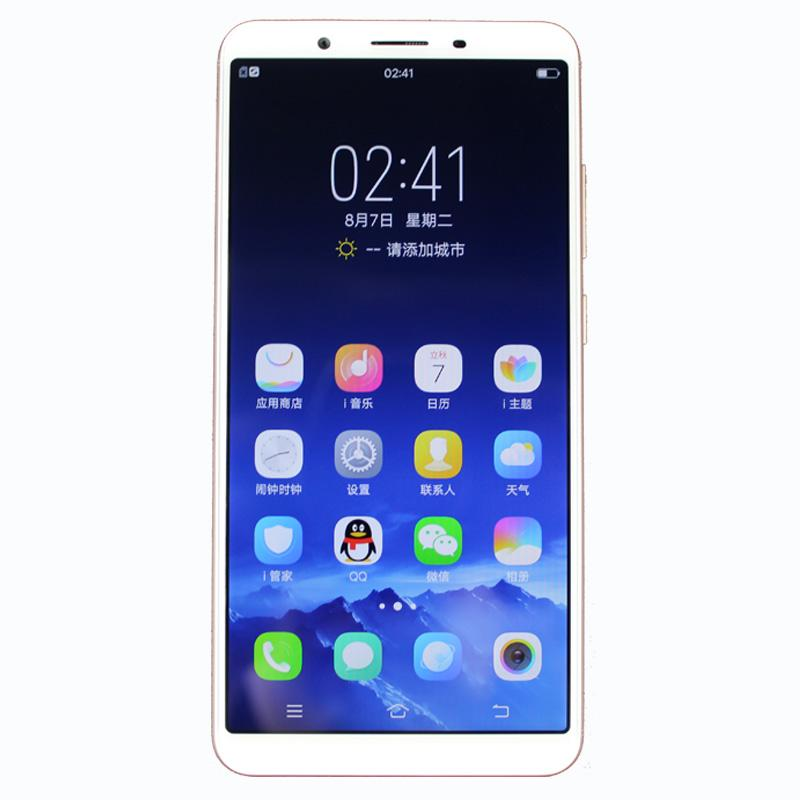"""Original VIVO Y71 4G LTE Cell Phone 4GB RAM 64GB ROM Snapdragon 425 Quad Core Android 5.99"""" Full Screen 13.0MP AI Face ID Smart Mobile Phone"""