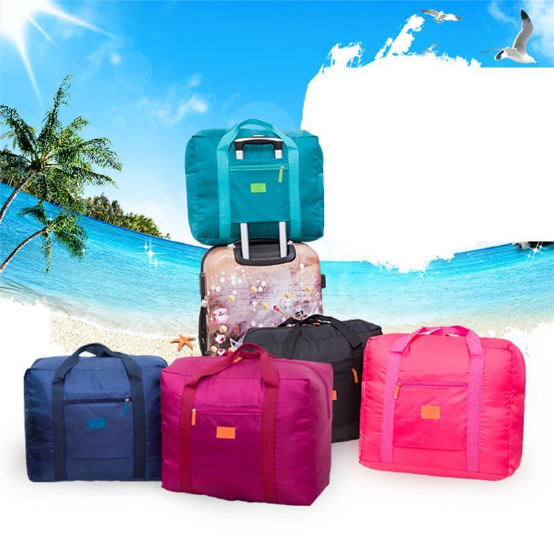 Moda bolsa de viaje de gran capacidad para el Hombre Mujeres fin de semana Big Bag Carry Capacidad de viajes en bolsas de equipaje noche a la mañana a prueba de agua