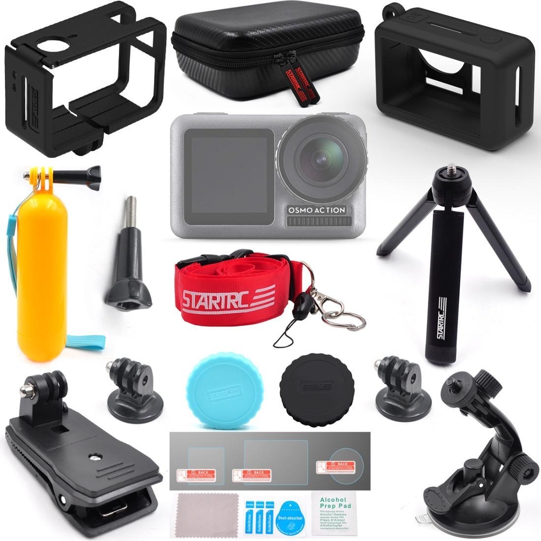 STARTRC Sports Camera Full Fange of Accessories Advanced Suit Kits for DJI Osmo Action
